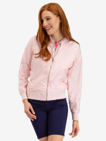 U.S. Polo Assn. - Womens Tipped Bomber Jacket - Size S