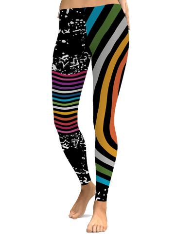 Fashion color digital print Halloween limited leggings