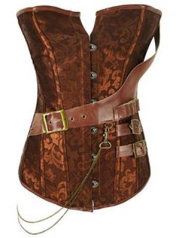 Buckled Strappy Corset