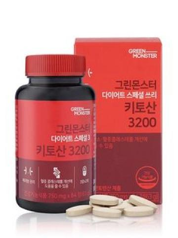 GREEN MONSTER - Diet Special 3 Chitosan 3200 84 Tablets