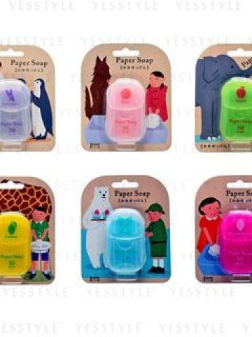 Paper Soap 50 pcs - 6 Types